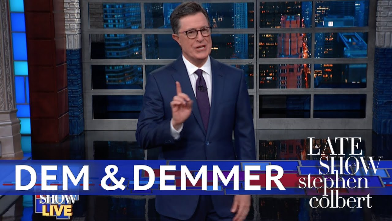 Stephen colbert clips on the daily show bet ball dipping bettinger realty new york