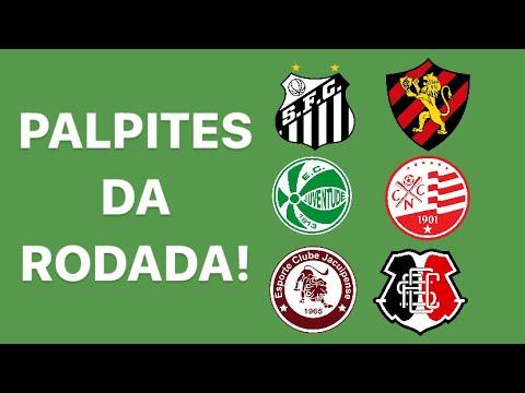PALPITES DA RODADA! SANTOS X SPORT | JUVENTUDE X NÁUTICO | JACUIPENSE X SANTA CRUZ! SEM MURO!