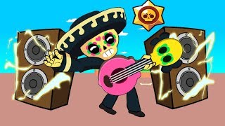 BRAWL STARS ANIMATION: POCO VS FRANK VS SPIKE VS PRIMO