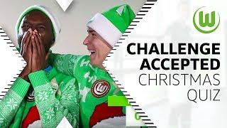 Ugly Christmas Sweater Quiz! mit Josuha Guilavogui & Felix Klaus