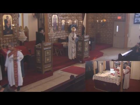St Mary Coptic Church Ottawa / Liturgy / 2018-01-21