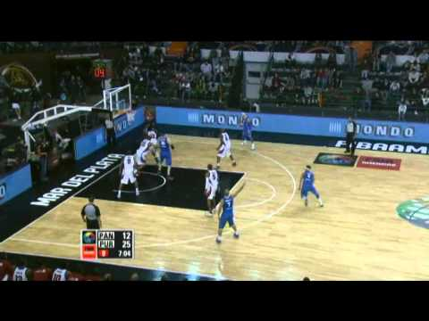 Panama Vs. Puerto Rico  / 2011 FIBA Americas Championship Round 1