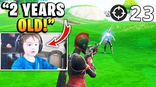 7 YOUNGEST Fortnite Streamers (Faze H1ghSky1, Mongraal, Mini Ninja / Sceptic, Kids)