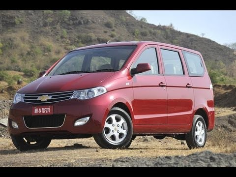 Chevrolet Enjoy MPV | Comprehensive Review | Autocar India