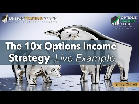 The 10x Options Income Strategy [Live Example]
