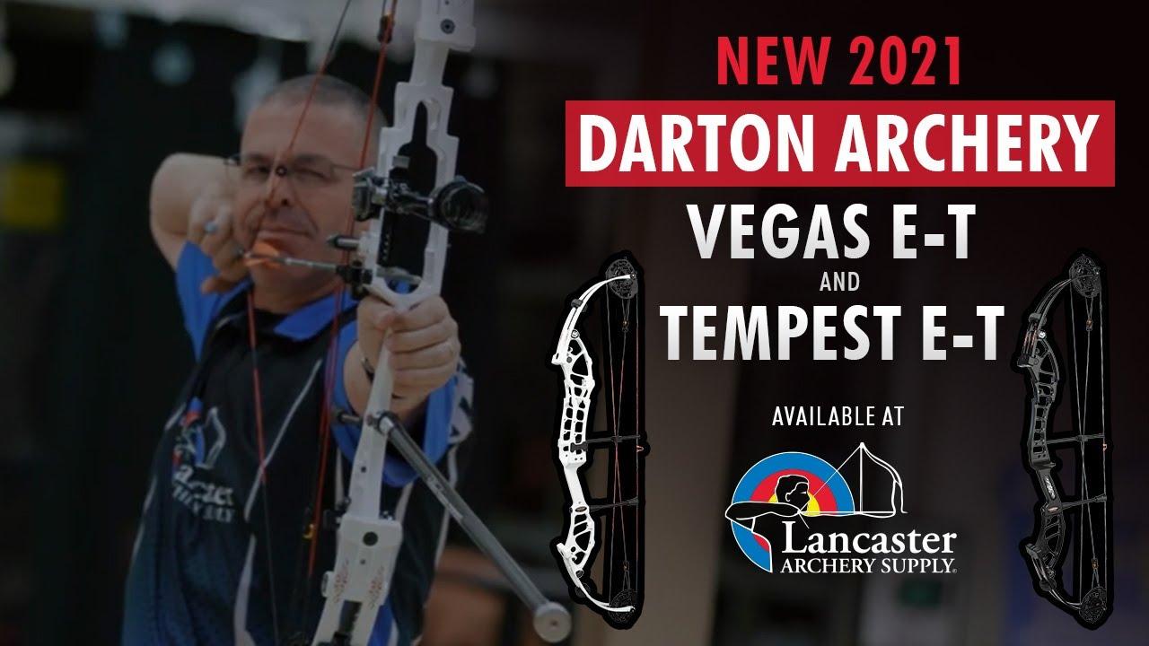 NEW Darton Archery Target Bows | Vegas ET and Tempest ET Bow Review