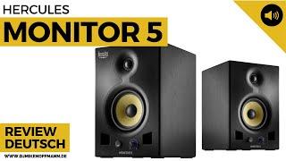 Hercules Monitor 5 Lautsprecher | Producing Lautsprecher