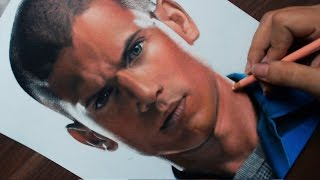 Drawing Michael Scofield | Prison Break