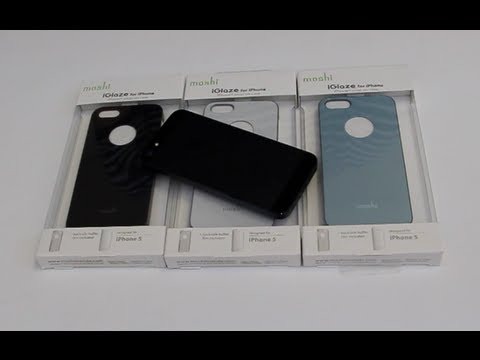 Moshi iGlaze Snap Case for iPhone 5 Review