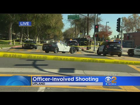 Man Wielding Replica Gun Shot, Wounded Near Elementary School In Upland