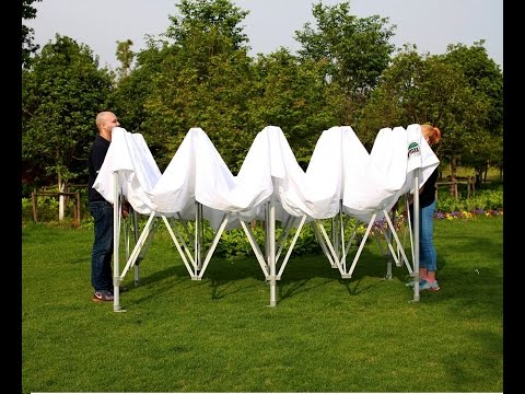 How to Set-up Eurmax10X20 Instant Pop Up Canopy Tent