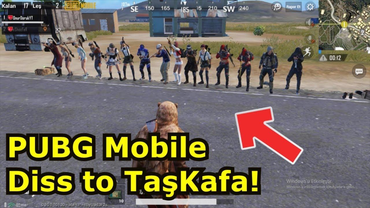 PUBG Mobile Diss to TaşKafa(Pubg Mobile Fatih Liginde Oynadık! ÇOK ZOR!!!)