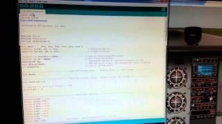 X plane Arduino udp dataref packet sending  by Bill Brown