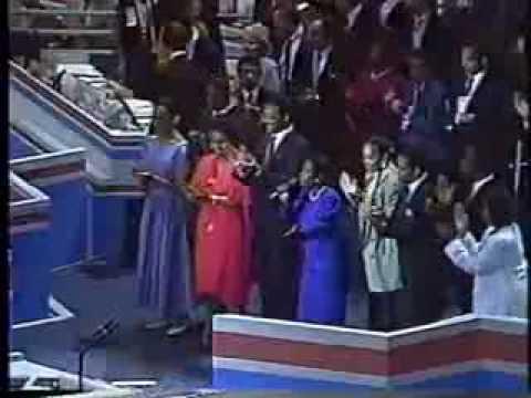 Ron Brown Interview after Jesse Jackson Speech to 1988 DNC