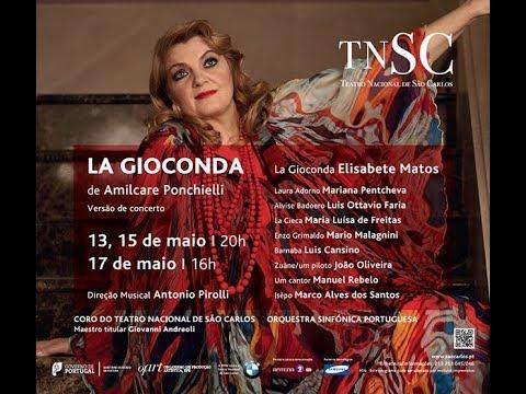 """""""LA GIOCONDA"""" vers. concierto (Teatro Sao Carlos de Lisboa, 13 de mayo de 2014)"""