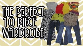 The PERFECT 10 Piece Wardrobe