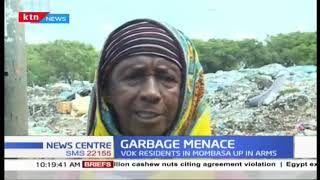 VOK residents up in arms, area choking on garbage