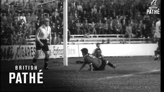 England Draw With Belgium 4-4 (1954)
