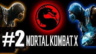 Mortal Kombat X - Прохождение на русском - часть 2 - Коталь Кан - Бог солнца