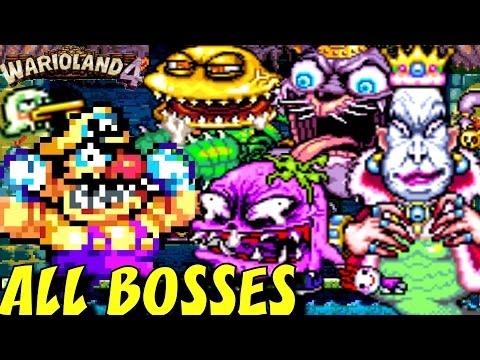 Wario Land 4 - All Bosses (No Damage)