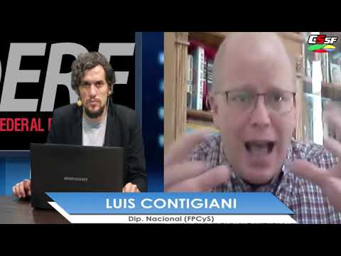 Contigiani: Logramos incluir un artículo para el pago de la deuda con Santa Fe