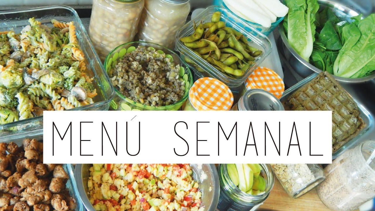 Men vegano semanal 1 fit vegan alto en prote na meal for Menu vegano para principiantes