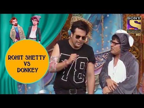 Krushna Imitates Rohit Shetty & Mocks Donkey Sudesh - Jodi Kamaal Ki