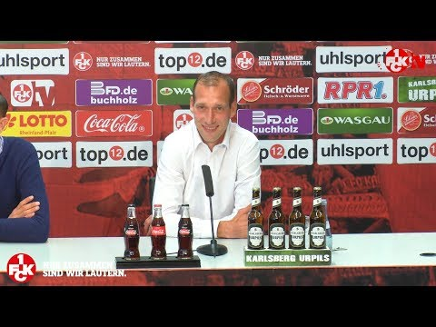 Statement des neuen FCK-Cheftrainers Jeff Strasser