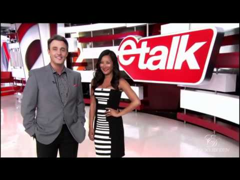 eTalk Sneak Peek  Erica Durance and Husband David Palffy