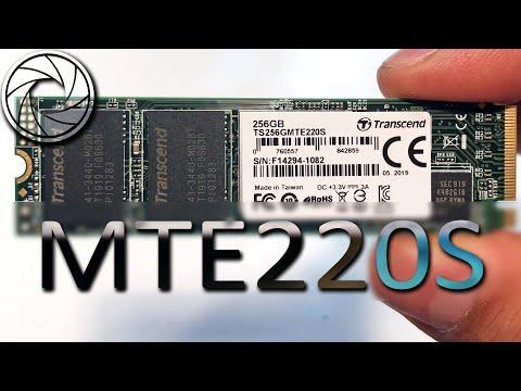 🎬 [ОБЗОР] Transcend SSD MTE220S 256GB из Rozetka