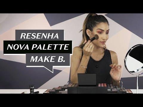 Cool Marina resenha a Palette de Maquiagem 140+ Colors | Make B. O Boticário thumbnail