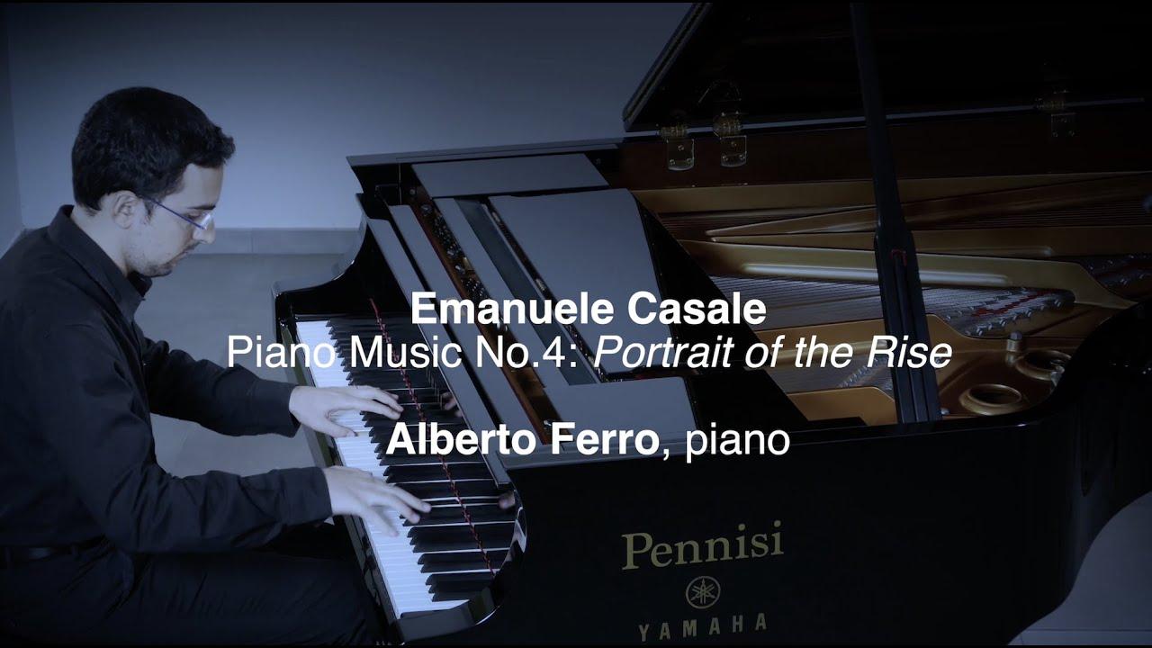 Alberto Ferro plays Casale's Piano Music No.4 - VIDEO