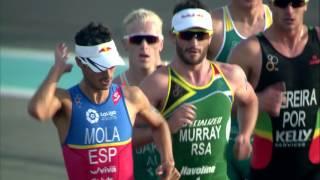 Video 2017 World Triathlon Abu Dhabi - Elite Men's Highlights download MP3, 3GP, MP4, WEBM, AVI, FLV September 2017