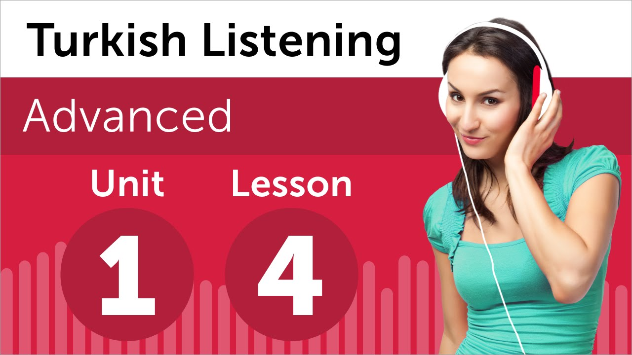 Turkish Listening Practice - Reserving Tickets to a Play in Turkish