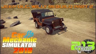 Car Mechanic Simulator 2018 | JEEP Willy