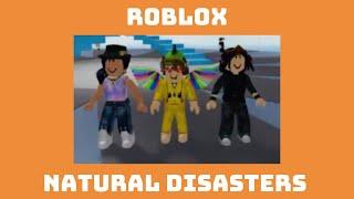 ROBLOX Naturkatastrophen - Familienspaß!
