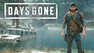 DAYS GONE - Mostrando Combate, Furtividade, Moto e Exploração! | PS4 Pro Gameplay