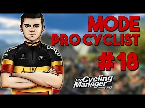 Pro Cycling Manager 2017 | Pro Cyclist #18 : A LA LUTTE AVEC PINOT !!