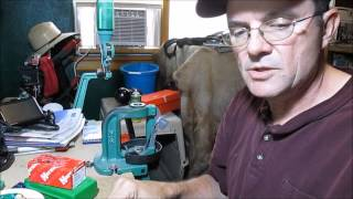 Wrapping and sizing paper patched bullets for Muzzleloaders