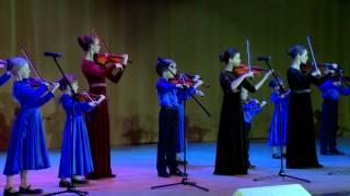 Концертную программу представляет город-герой Севастополь