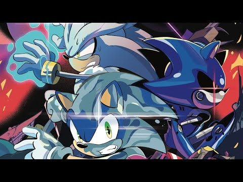 Sonic The Hedgehog Idw Issue 29 Youtube