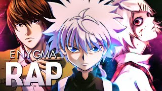 Rap dos Assassinos | Killua, Kira, Alucard, Juuzou... | EnyGroup 10 | Alma de Assassino