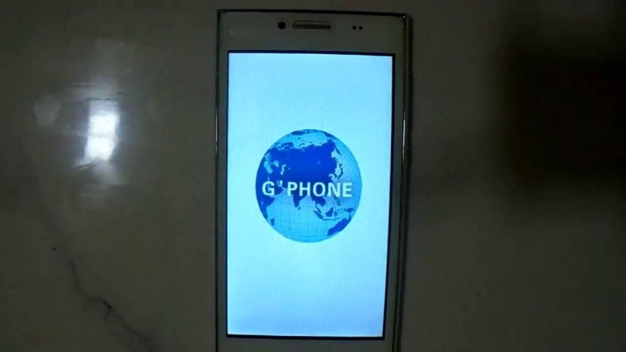 g phone g550i hard reset