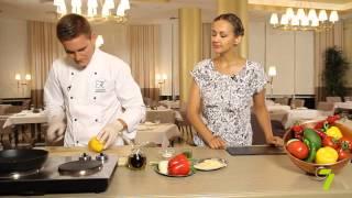Завтрак на 7 с «KADORR Restaurant». Французский омлет с сыром и овощами