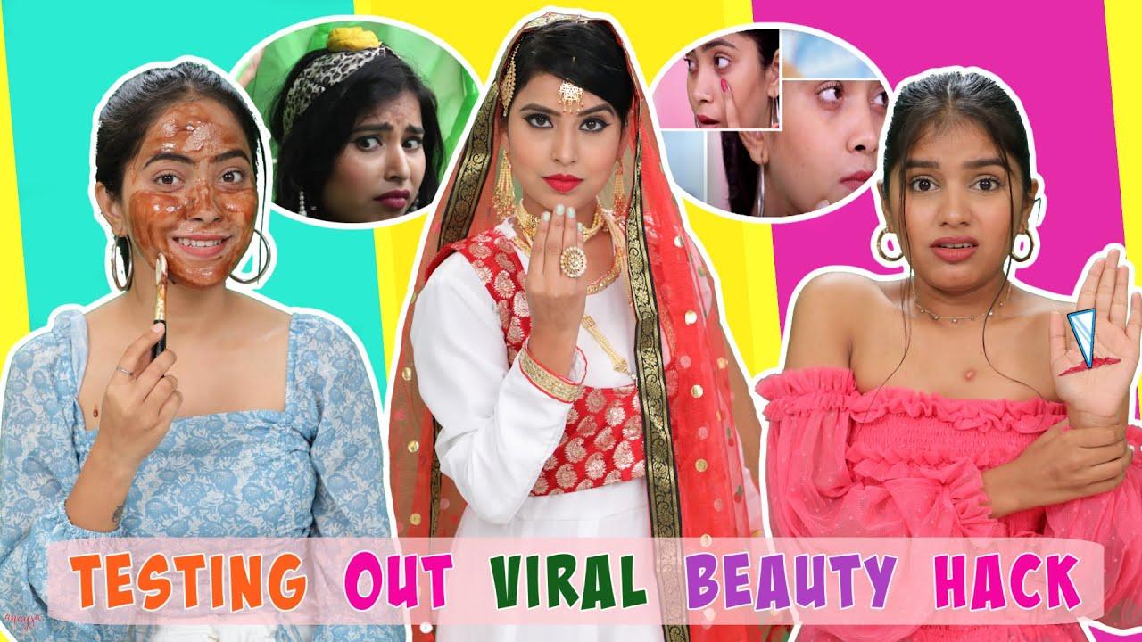 Testing Out Viral LIFE & Beauty HACKS | Anaysa