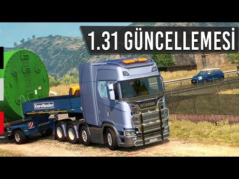 Euro Truck Simulator 2 - 1.31 Güncellemesi