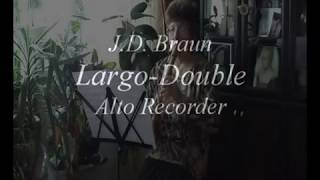 �������� ���� J.D. Braun,  Largo & Double ������