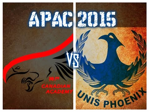 APAC Soccer 2015 Canadian Academy vs United Nations International School of Hanoi