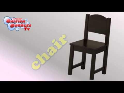 Aprender Los Muebles En Ingles Para Niños Youtube