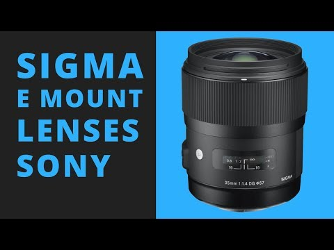 Do the Sigma E Mount Lenses for Sony Solve YOUR Problem?